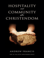 Hospitality and Community After Christendom