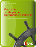 Praxis der strategischen Unternehmensanalyse