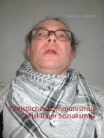 Christlicher Kommunismus Christlicher Sozialismus