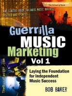 Guerrilla Music Marketing, Vol 1