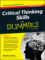 Critical Thinking Skills For Dummies
