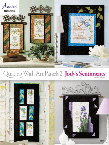 Quilting with Art Panels 2: Jody's Sentiments