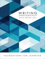 Writing Theologically