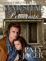Marshal in Petticoats (Halsey Brothers Series, #1)