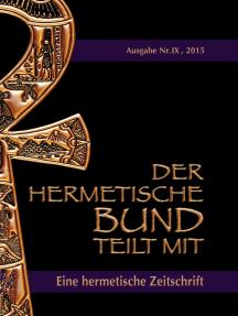 Der hermetische Bund teilt mit: Hermetische Zeitschrift Nr. 9/2015