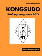 Kongsudo Prüfungsprogramm