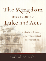 The Kingdom according to Luke and Acts