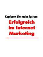 Erfolgreich im Internet Marketing