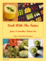 Cook with the Twinz Juices & Smoothies Vol. One