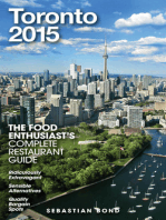 Toronto - 2015 (The Food Enthusiast's Complete Restaurant Guide)