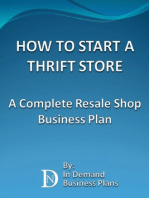 How To Start A Thrift Store