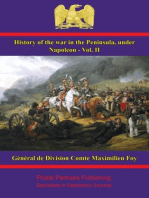 History of the War in the Peninsula, under Napoleon - Vol. II