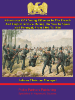 Adventures of a young rifleman in the French and English armies,