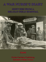 A War Nurse's Diary; Sketches From A Belgian Field Hospital [Illustrated Edition]