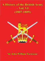A History Of The British Army – Vol. VI – (1807-1809)