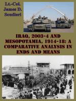 Iraq, 2003-4 And Mesopotamia, 1914-18