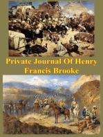 Private Journal Of Henry Francis Brooke, Late Brigadier-General Commanding 2nd Infantry Brigade Kandahar Field Force,