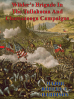 Wilder's Brigade In The Tullahoma And Chattanooga Campaigns Of The American Civil War