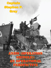 Anzio (Operation Shingle): An Operational Perspective