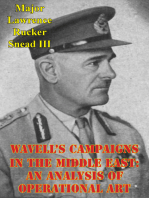 Wavell's Campaigns In The Middle East