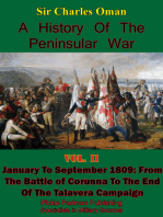 A History of the Peninsular War, Volume II January to September 1809: From the Battle of Corunna to the End of the Talavera Campaign [Illustrated Edition]