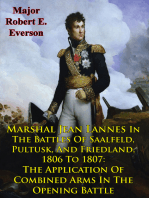 Marshal Jean Lannes In The Battles Of Saalfeld, Pultusk, And Friedland, 1806 To 1807