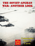 The Soviet-Afghan War