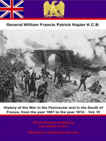 History Of The War In The Peninsular And In The South Of France, From The Year 1807 To The Year 1814 – Vol. VI