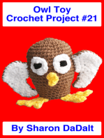 Owl Toy Crochet Project #21