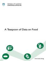 A Teaspoon of Data on Food