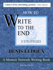 How to Write to the End / Eight Strategies