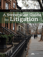 A Streetwise Guide to Litigation