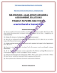 Indian School of Business Management and Administration. CASE STUDY ANSWER SHEETS. BMS.MBA
