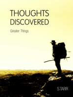 Greater Things (Thoughts Discovered