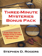 Three-Minute Mysteries Bonus Pack