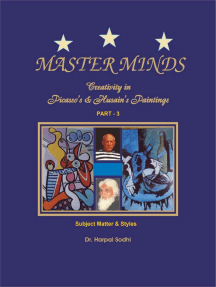 Master Minds:Creativity in Picasso's & Husain's Paintings. Part 3: 1, 2, 3, 4, 5, #3