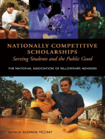 Nationally Competitive Scholarships