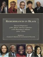 Remembrances in Black