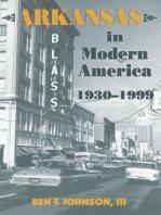 Arkansas in Modern America, 1930–1999