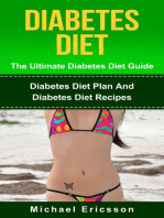 Diabetes Diet - The Ultimate Diabetes Diet Guide