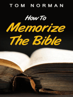 How To Memorize The Bible