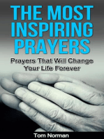 The Most Inspiring Prayers