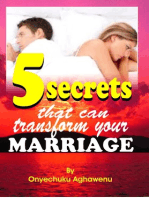 Five Secrets That Can Transform Your Marriage