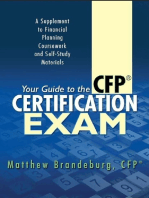 Your Guide to the CFP Certification Exam (2018 Edition)