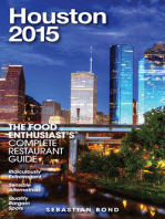 Houston - 2015 (The Food Enthusiast's Complete Restaurant Guide)