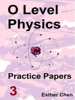 O level Physics Questions And Answer Practice Papers 3