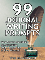 99 Journal Writing Prompts And Ideas