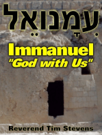 """Immanuel ~ """"God with Us"""""""