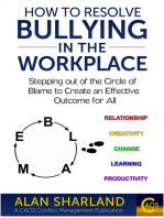 How to Resolve Bullying in the Workplace