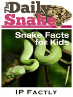 The Daily Snake - Facts for Kids - Great Images in a Newspaper-Style - Snake Books for Children (Newspaper Facts for Kids, #5)